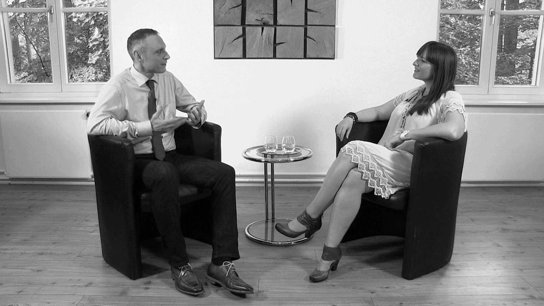 Thomas Issler im Gespräch mit Heidi Pütz