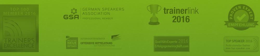 Auszeichnungen und Mitgliedschaften von Thomas Issler