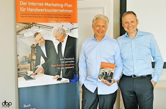Internet-Marketing im Handwerk: Volker Geyer und Thomas Issler