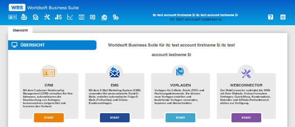 Worldsoft Business Suite (WBS): Internet-Marketing und Verwaltung aus einem Guss