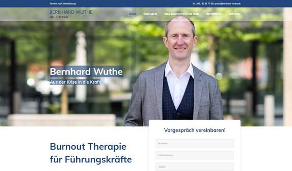 Burnout: Aus der Krise in die Kraft – die Landingpage von Heilpraktiker Wuthe ist online