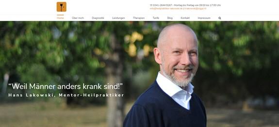 Männer sind anders krank – Hans Lakowski hilft als Mentor und Heilpraktiker