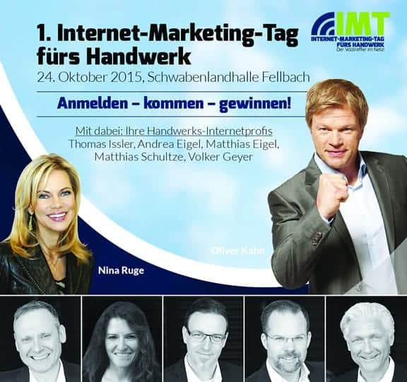 1. Internet-Marketing-Tag fürs Handwerk in Fellbach