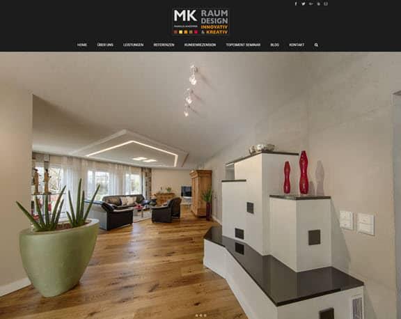 WordPress Website von Maler Knöpper, einem Gestaltungsmaler der Spitzenklasse, geht online