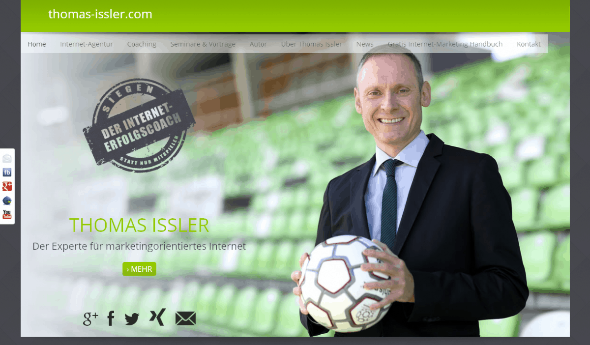 Relaunch thomas-issler.com in Responsive Design